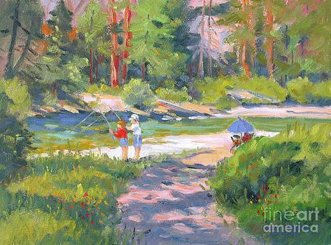 Fishing at Kennedy Meadows by Rhett Regina Owings