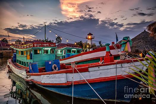 Adrian Evans - Fishing Boat