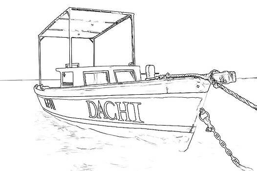 David Letts - Fishing Boat Dachi of the Caribbean