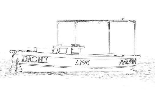 David Letts - Fishing Boat Dachi of the Caribbean II