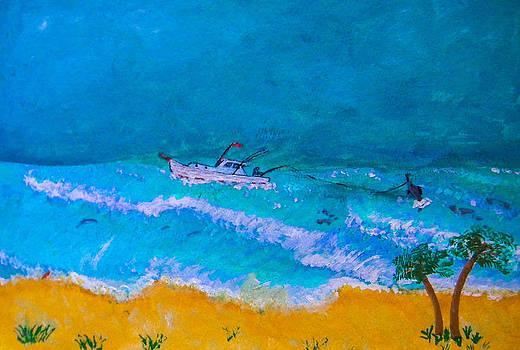 George Lockwood - Fishing Boat