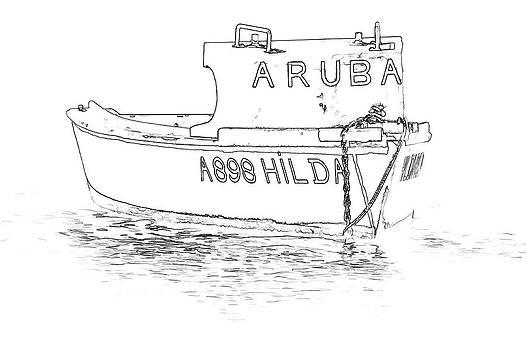 David Letts - Fishing Boat Hilda of the Caribbean
