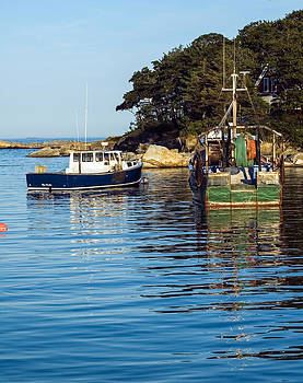 Fishing Boats at Rest by Scott Slattery