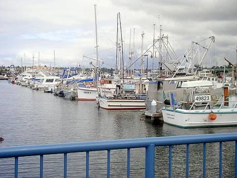 Fishing Boats by Bill Talich