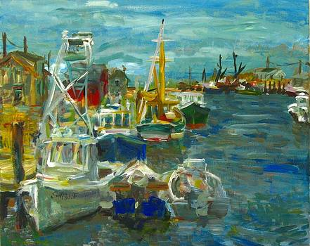 Edward Ching - Fishing Boats