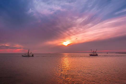Mary Almond - Fishing boats