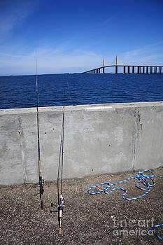 Danielle Groenen - Fishing by the Skyway