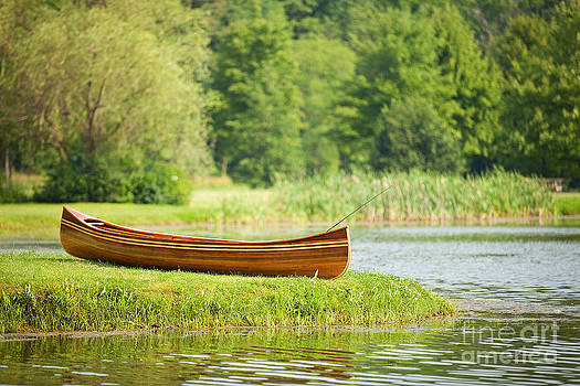 Fishing Canoe by Sharon Dominick