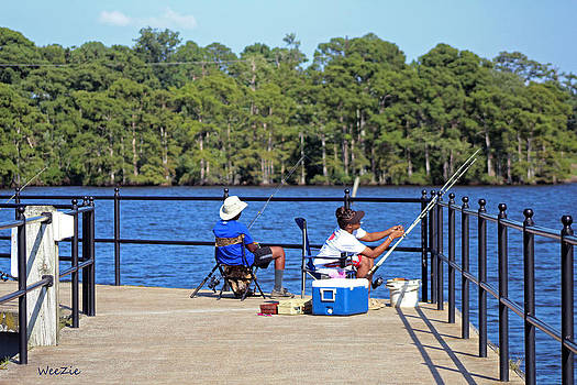Fishing by Carolyn Ricks