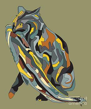Fishing Cat by Megan Dirsa-DuBois