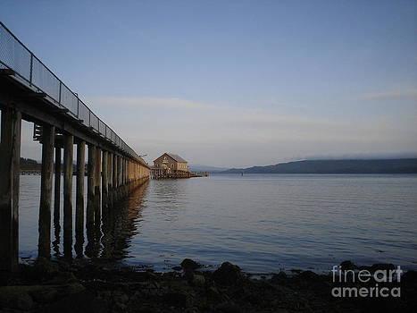 Fishing Dock by Katherine Karsten