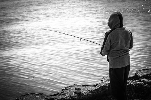 Fishing For Hunger by San Gill