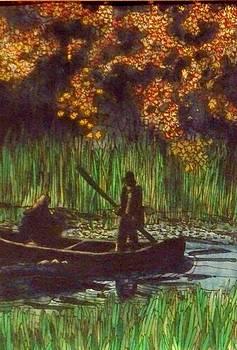 Fishing Hole by Donna Whitsitt