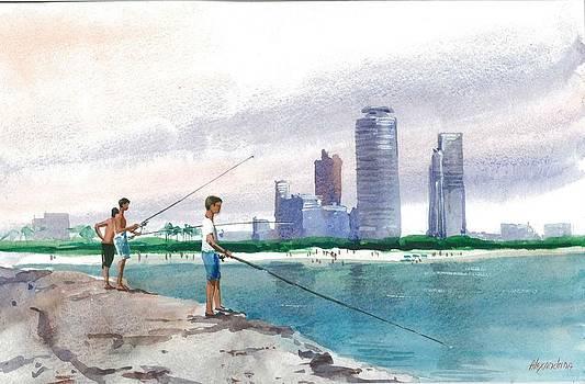 Fishing in Florida by Irina Alexandrina