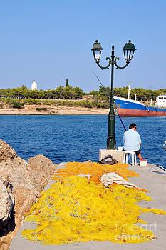 George Atsametakis - Fishing in Spetses town