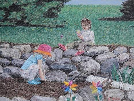 Fishing in the Dirt by Renee Helin
