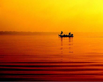 Fishing in the Fog  sized by Jann Kline