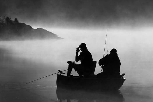 Fishing in the Mist by Gregory McKelvey