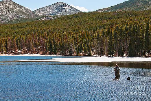 Mae Wertz - Fishing in Winter