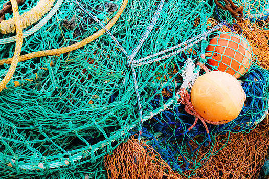 Jane McIlroy - Fishing Nets and Floats