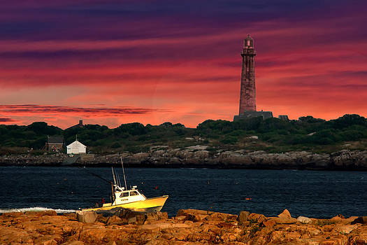 Randall Branham - Fishing off Thatcher Island