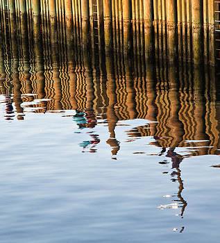 Fishing off the Pier by Allan MacDonald