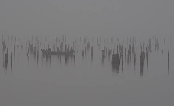 Billy  Griffis Jr - Fishing On A Foggy Morning