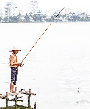 Fishing by Paul Frederiksen