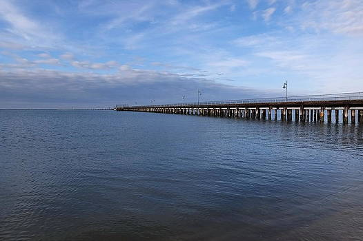Fishing Pier 2 by Francie Davis