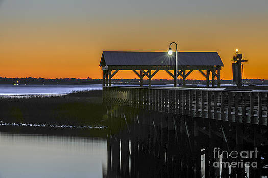 Dale Powell - Fishing Pier at Dusk