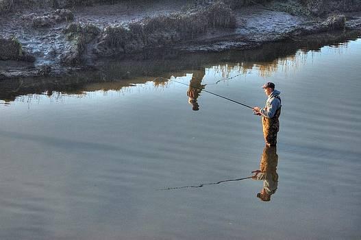 Fishing Reflections by Thomas Taylor