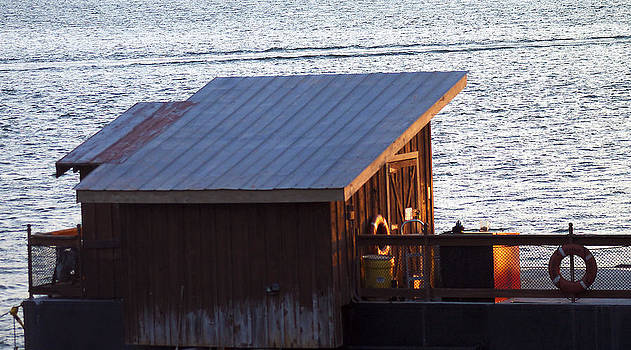 Fishing shack by Danielle Allard