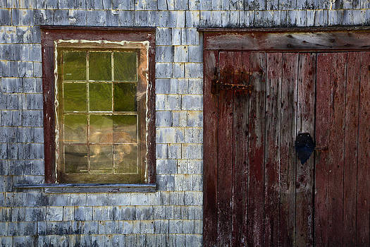 Fishing Shed  Textures by Allan MacDonald