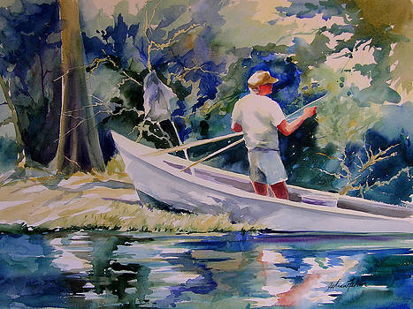Fishing Spruce Creek by Julianne Felton