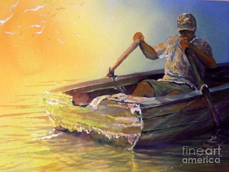 Fishing with Friends by Jerry Aissis