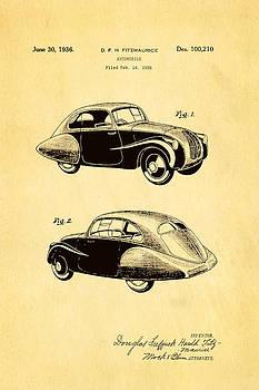 Ian Monk - Fitzmaurice Automobile Patent Art 1936