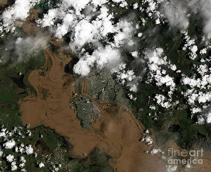 Science Source - Fitzroy River Flooding Australia