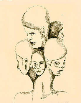 Sam Sidders - Five Headed Figure