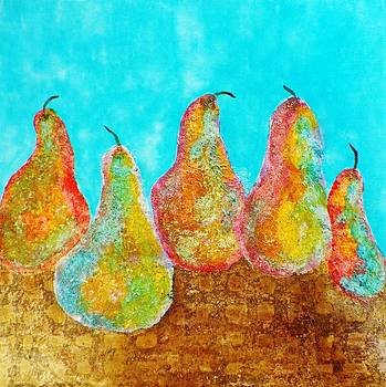 Five Little Pears by David Raderstorf