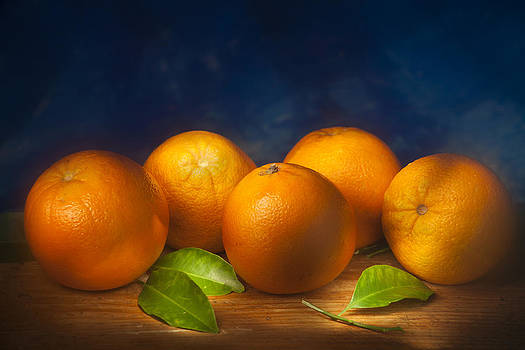 Five Oranges by Martin Joyful
