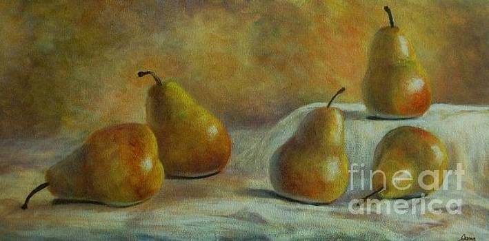 Five Pears by Jana Baker