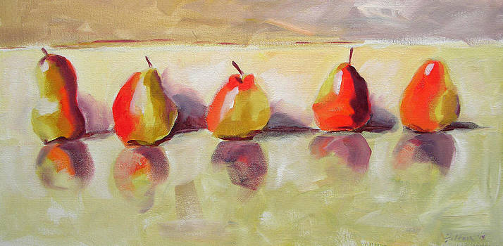 Five Pears by Julianne Felton
