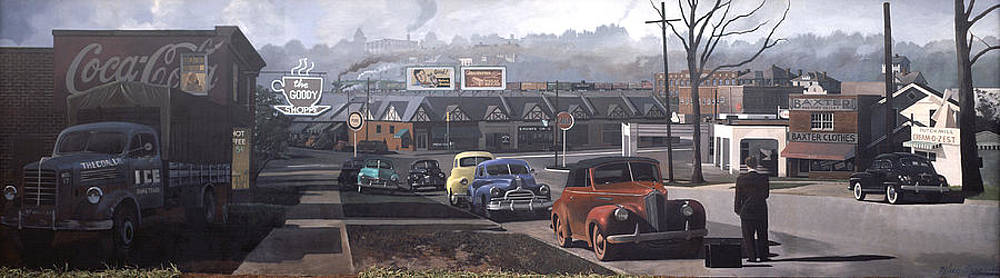Five Points - 1948 by Blue Sky
