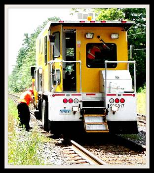 Gail Matthews - Fixing the CN Train Tracks