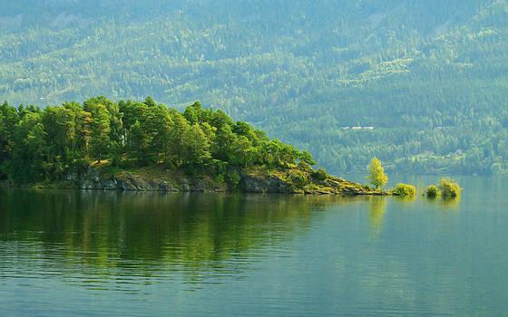 Fjord  by Cristian Mihaila
