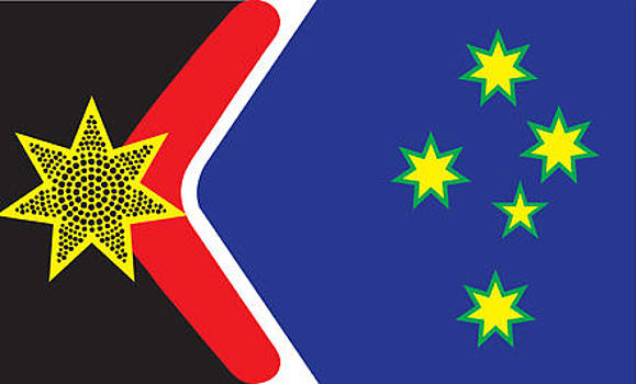 Flag For A New Republic by Greg Hoey