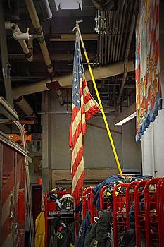 Flag From 9 11 by Thomas Fouch