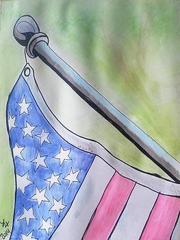 Flag by Loretta Nash