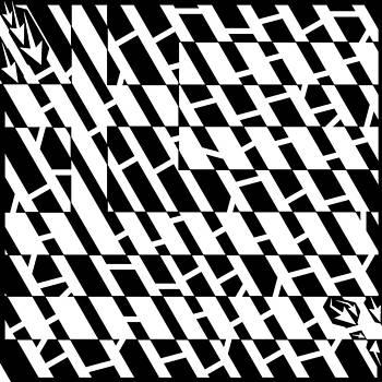 Flag of Greece Maze  by Yonatan Frimer Maze Artist