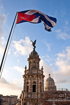 Flag over Havana by George Cathcart